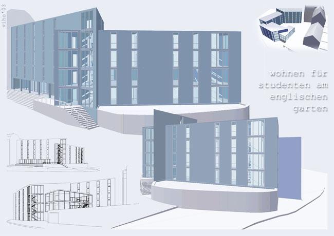 Wohnen f r studenten am for Architekturstudium teilzeit